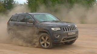 Jeep Grand Cherokee 2016 - Брутальный внедорожник за 3.750.000 рублей