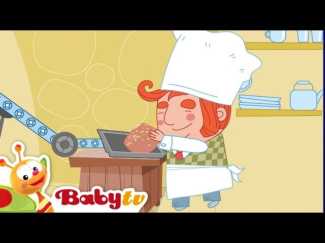 The Muffin Man | Nursery Rhymes and Songs for kids | BabyTV