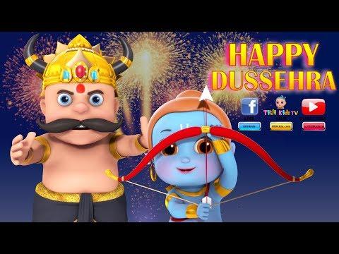 Happy  Dussehra 2018 -  Funny Animation - WhatsApp Status Video  #HappyDashara #Vijayadashmi Wishes