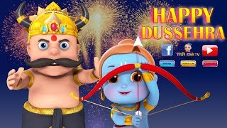 Happy  Dussehra 2018 -  Funny Animation - WhatsApp Status Video| #HappyDashara #Vijayadashmi Wishes