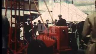 Agricultural Show in Northern Ireland, 1950's - Film 93921