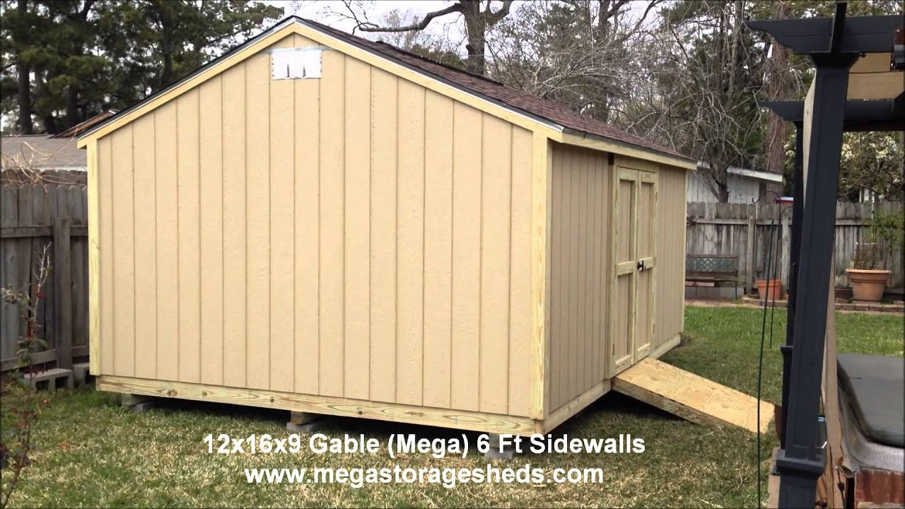 Perfect Storage Sheds Beaumont, Tx (12x16x9)