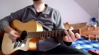 Peter Schilling - Major Tom - acoustic guitar cover by onlyfavoritemusic