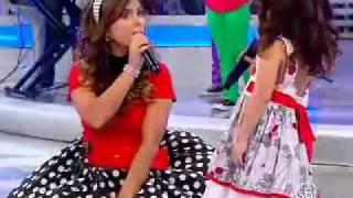 Aline Barros - Programa Raul Gil - SBT - 16/10/2010 - Fico Feliz