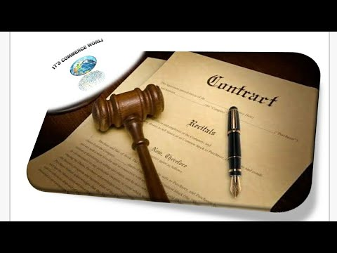 Indian Contract Act, 1872.  by it's commerce world it'scommerceworld