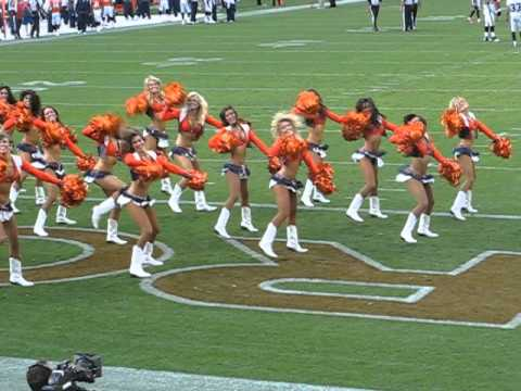 DENVER BRONCOS CHEERLEADERS 2012
