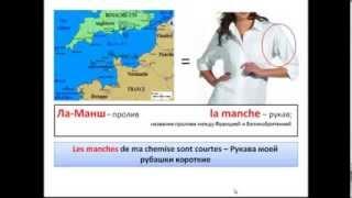 Французский язык. Уроки французского #1: Французские слова, которые вы знаете. Часть 1
