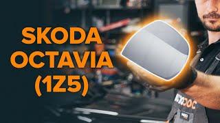 Como mudar Sapata de freio de mao SKODA OCTAVIA Combi (1Z5) - tutoriais