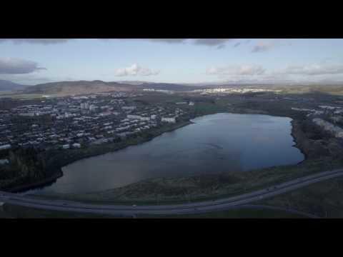 Quiet Suburbs of Reykjavik Iceland 2017