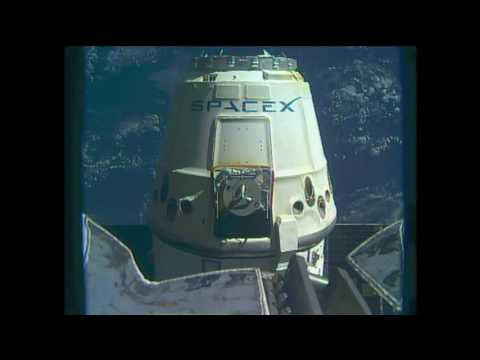 U.S. Commercial Cargo Ship Departs the International Space Station