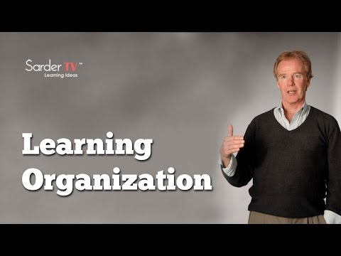 How do you define a learning organization? by Peter Senge