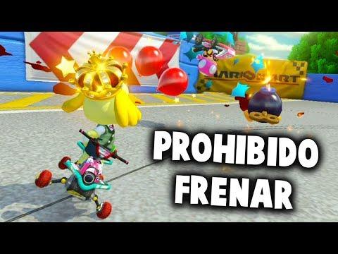 PROHIBIDO FRENAR EN BATALLAS DE MARIO KART 8 DELUXE   Nintendo Switch