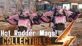 Fallout 4 - How to paint Power Armor in Red, Pink and Shark Paint