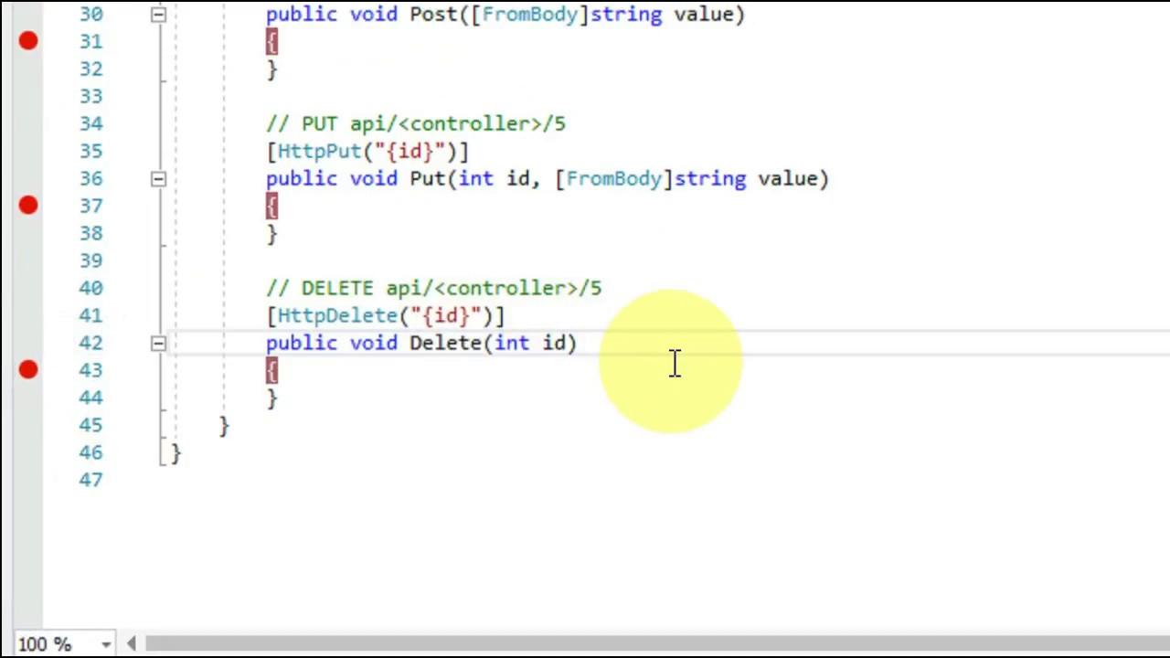Asp Net Core 2 0 : Create Web Api & Test on POSTMAN (Actionable)