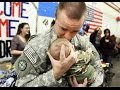 Soldiers Coming Home Surprise Compilation 2016 - 35
