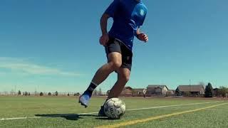 Ведение мяча внутренней и внешней стороной