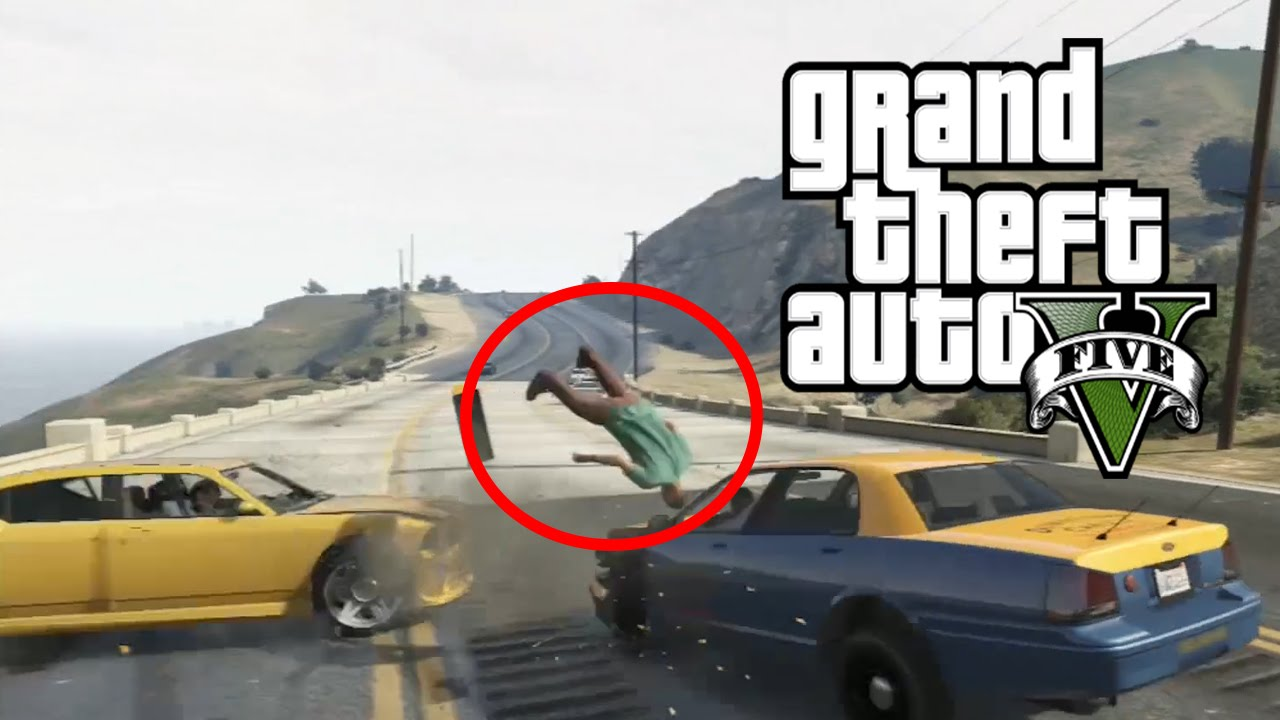 Best Car Crash Compilation #3 In Grand Theft Auto 5 (GTA V) - YouTube