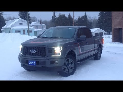 2018 Ford F-150 Lariat Sport 4X4: Start Up, Exterior, & Short Review