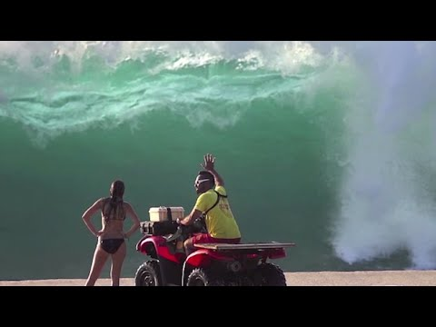 Pipeline Rescues, North Shore Lifeguards