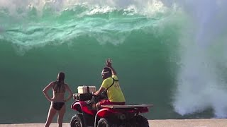 Pipeline Rescues, North Shore Lifeguards Thumbnail