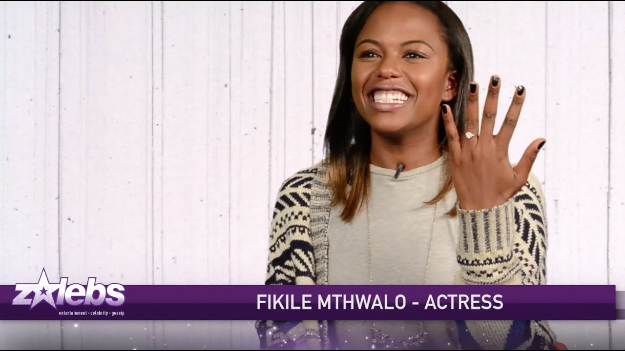 Up Close & Personal With Fikile Mthwalo - ZAlebs Exclusive by ZAlebs