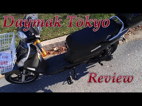 Daymak Tokyo 48v 500w Electric Scooter Review