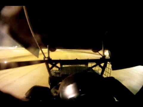 #28 David Forbis in-car Ark-La-Tex Speedway 6/18/11