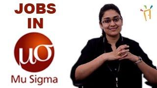 MU SIGMA– Recruitment Notification 2016, IT Jobs, Walkin, Career, Oppurtunities, Campus placements