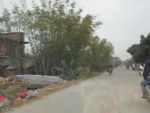 the world of motor in rural area of china