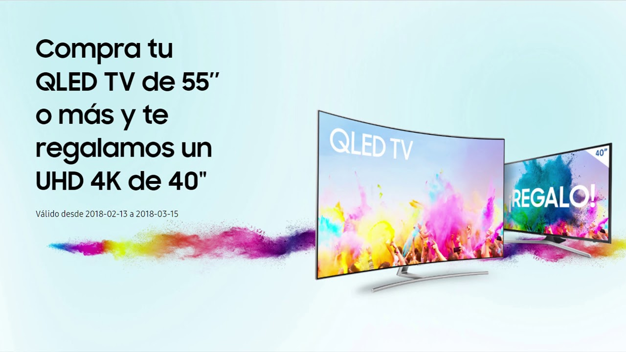 Promocion samsung qled tv 4k de 40 pulgadas de regalo for Regalo mobile tv