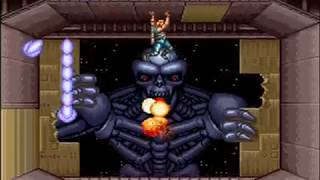 Contra III The Alien Wars (SNES) Playthrough Hard Mode
