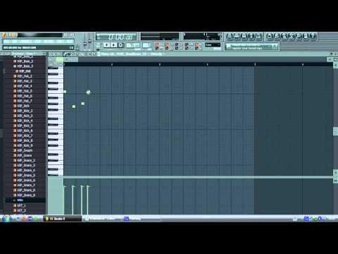 """How to make Soulja Boys """"Crank That"""" in Fl Studio"""