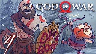 God of War HARD MODE (God of War 4) Part 4 - w/ The Completionist
