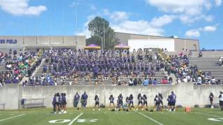 """Alcorn-SOD playing """"""""Halfway """""""" 2016 Spring Game at Alcorn State"""