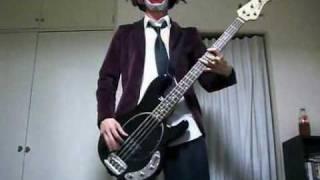 Marilyn Manson Arma Goddamn Motherf Kin Geddon BassCover