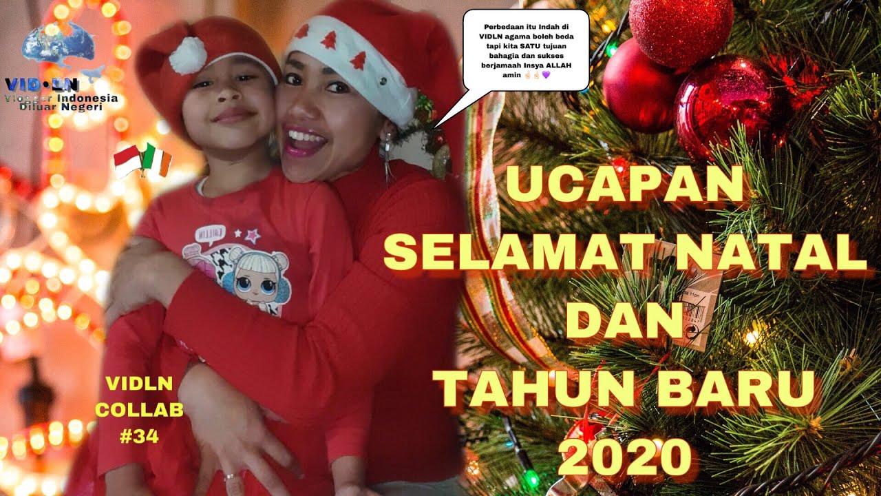 UCAPAN NATAL 2019 DAN TAHUN BARU 2020 - VLOGGER INDONESIA ...