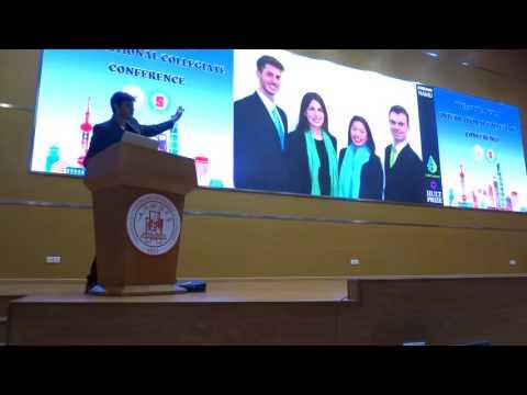 Gustavo Hamu - WeSeed Speaker on 2nd Shanghai International Collegiate Conference.