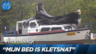 Zware lekkage in de boot! | UTOPIA