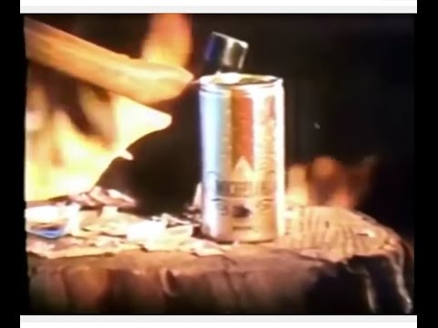 Michelob Beer 'Camping' Commercial (1974)