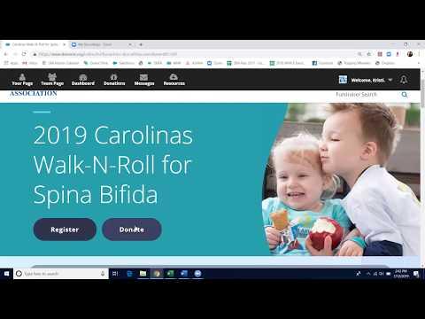 Walk-N-Roll for Spina Bifida Registration Tutorial thumbnail