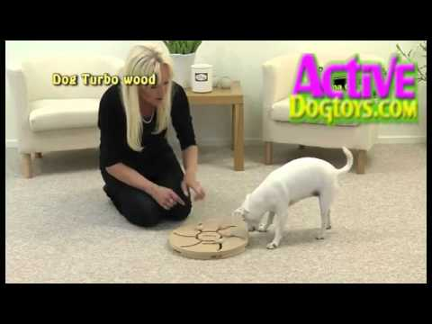 Nina Ottosson Dog Turbo Dog Puzzle - www.ActiveDogToys.com