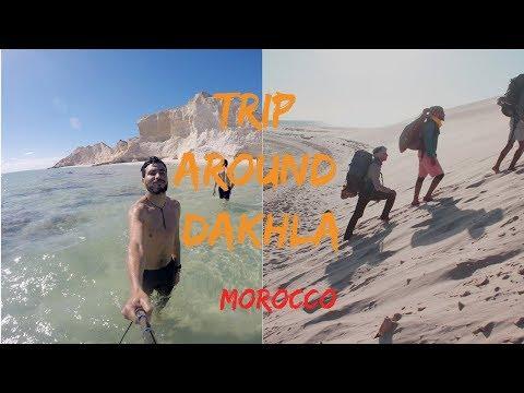 Trip Around Dakhla , Morocco