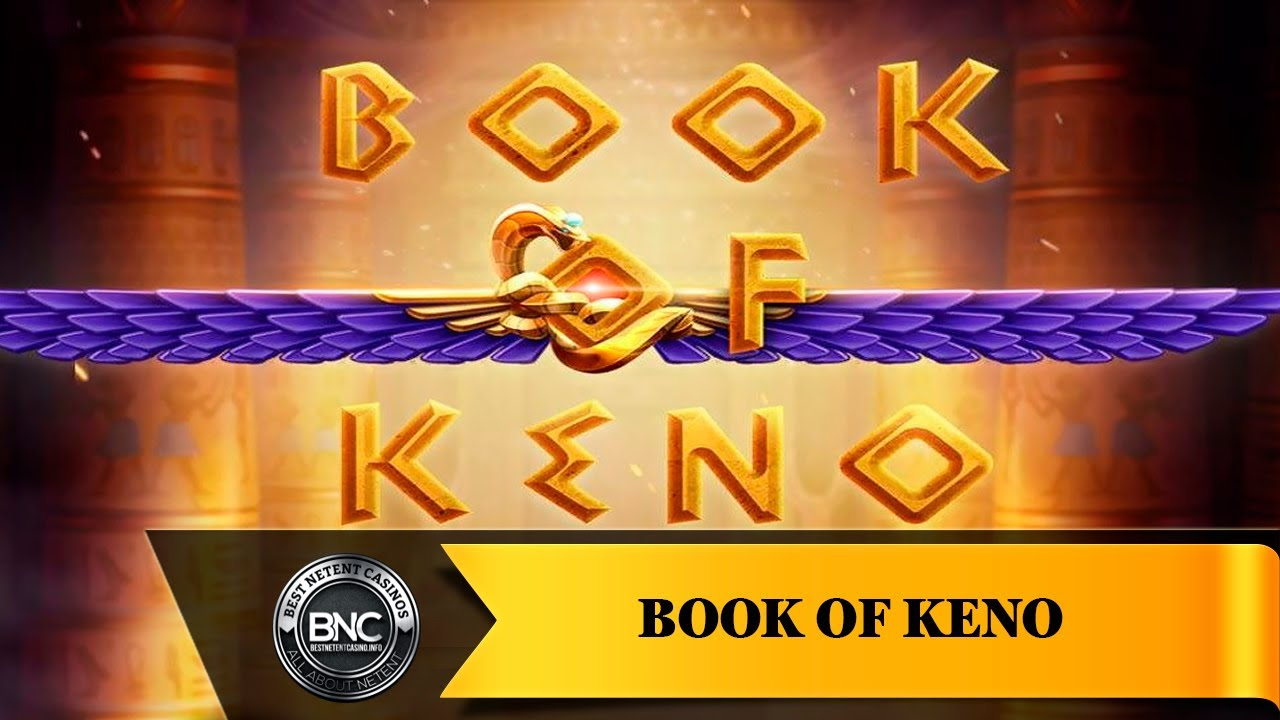 Book of Keno slot by Evoplay Entertainment - YouTube