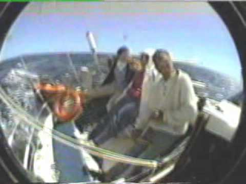 Sailing to the Magdalene Islands from Prince Edward Island