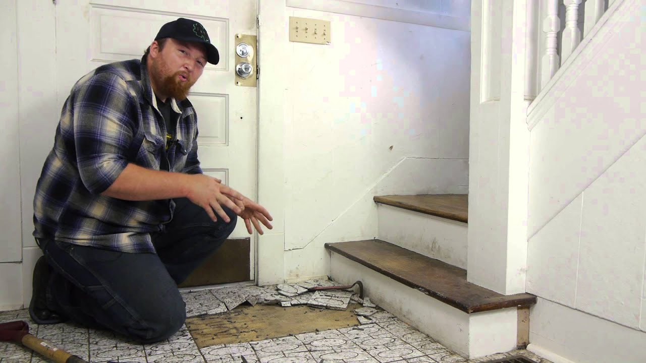 How to remove tile from a hardwood floor flooring maintenance how to remove tile from a hardwood floor flooring maintenance youtube dailygadgetfo Gallery