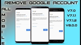 Bypass Google Account Any Android 7 Without Pc 2018 Last Security