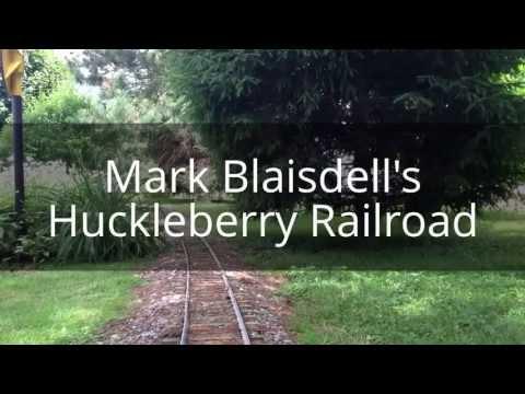 Blaisdell's Live Steam Huckleberry Railroad Wilmore PA