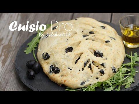 recettes fougasse aux olives cuisio pro la plus petite cuisine du monde youtube. Black Bedroom Furniture Sets. Home Design Ideas