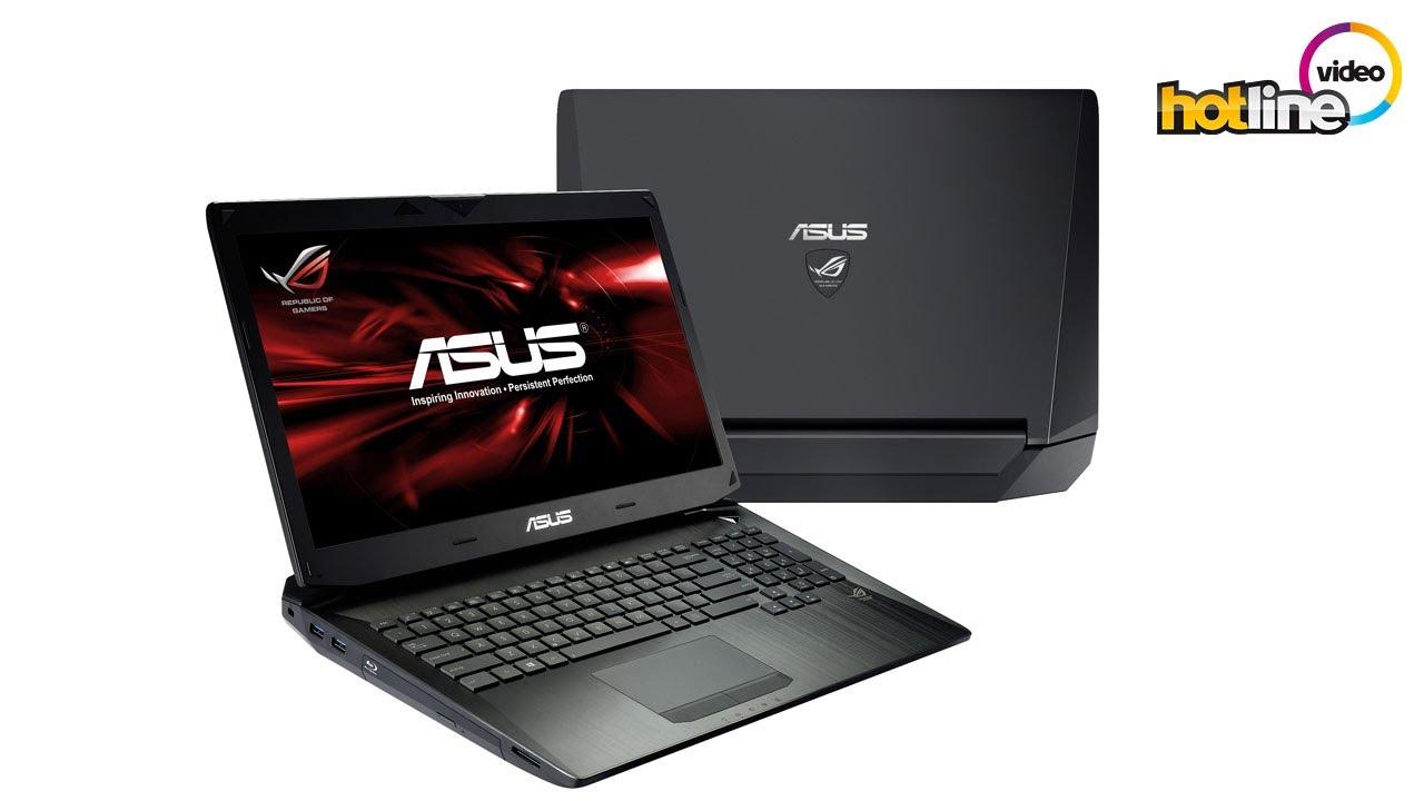 Обзор игрового ноутбука ASUS G750