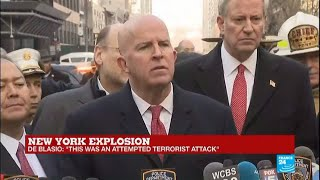 """New York Explosion: Officials give press conference on """"attempted terrorist attack"""""""
